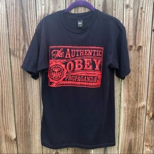 THE AUTHENTIC OBEY PROPAGANDA T-SHIRT